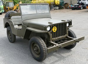 1942 Ford GPW Jeep, 2,200cc.
