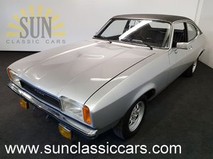 Ford Capri MK2 1975, in very good condition.