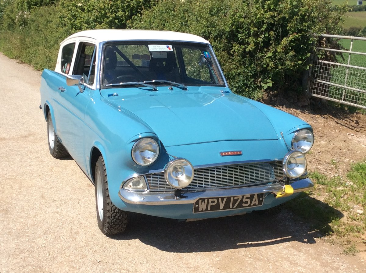 1962 Ford Anglia 105E Historic Rally Car SOLD (picture 1 of 6)