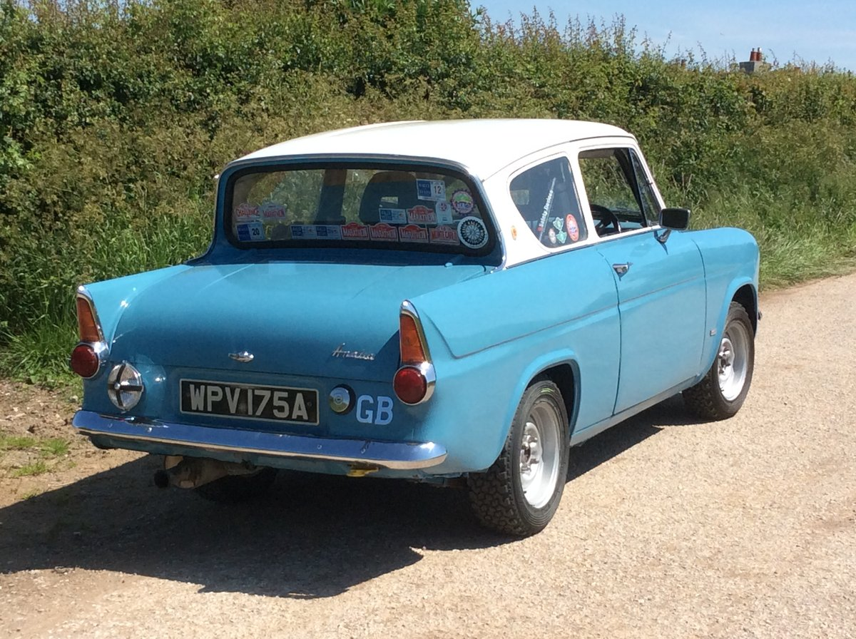 1962 Ford Anglia 105E Historic Rally Car SOLD (picture 2 of 6)