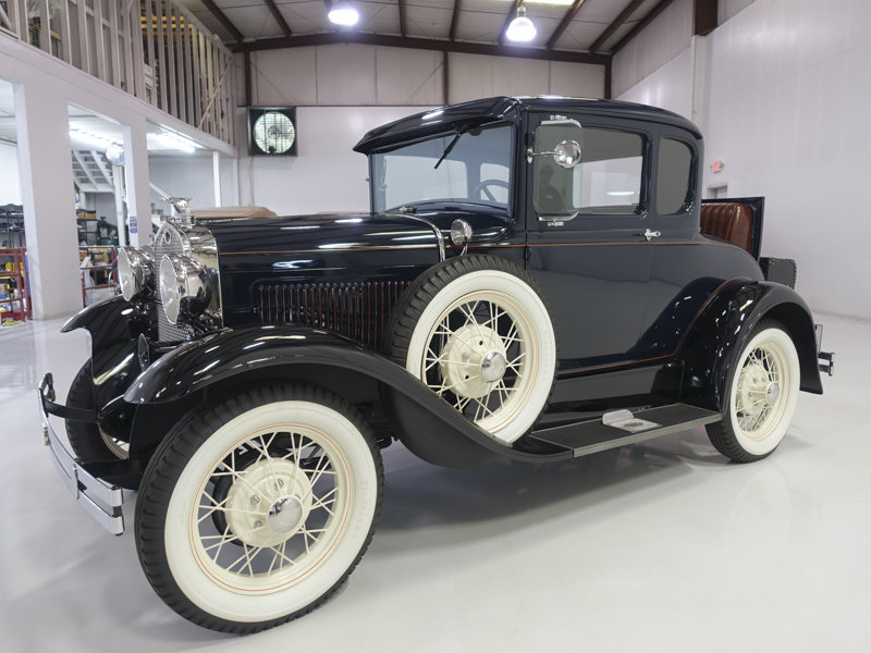 1930 Ford Model A Deluxe Rumble Seat Coupe For Sale (picture 1 of 6)