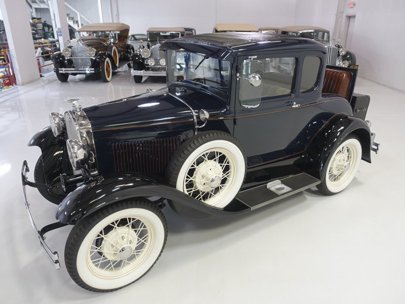 1930 Ford Model A Deluxe Rumble Seat Coupe For Sale (picture 2 of 6)