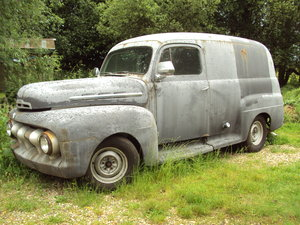 1951 ford f1 panel For Sale