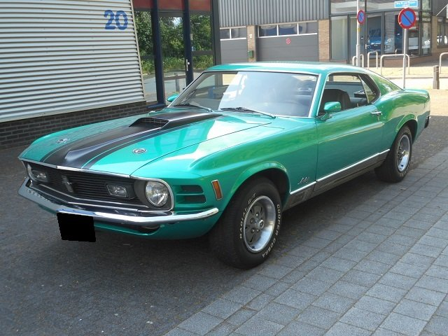 1970 FORD MUSTANG MACH 1 For Sale (picture 1 of 6)