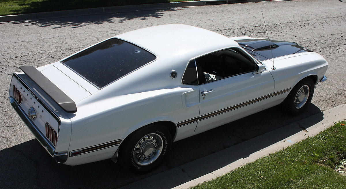 1969 Ford Mustang Genuine Mach One 351 Cleveland For Sale (picture 1 of 6)