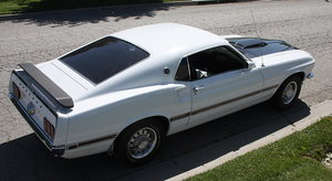 1969 Ford Mustang Genuine Mach One 351 Cleveland For Sale