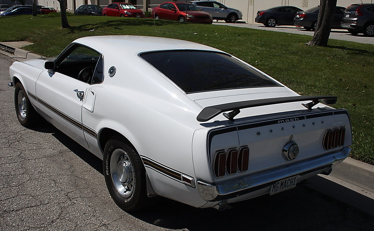 1969 Ford Mustang Genuine Mach One 351 Cleveland For Sale (picture 2 of 6)
