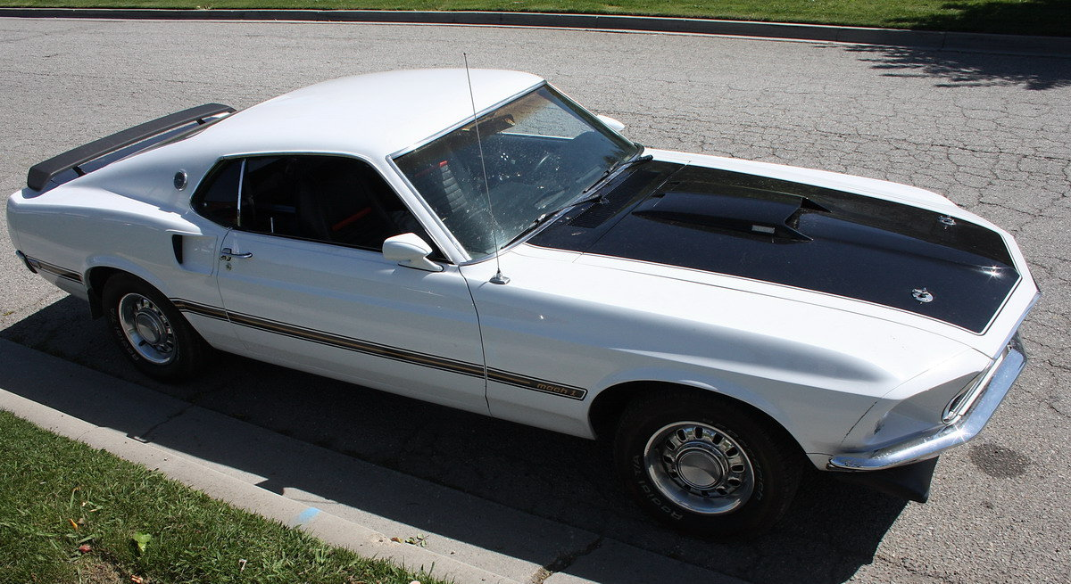 1969 Ford Mustang Genuine Mach One 351 Cleveland For Sale (picture 3 of 6)