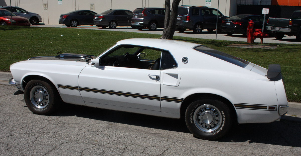 1969 Ford Mustang Genuine Mach One 351 Cleveland For Sale (picture 4 of 6)