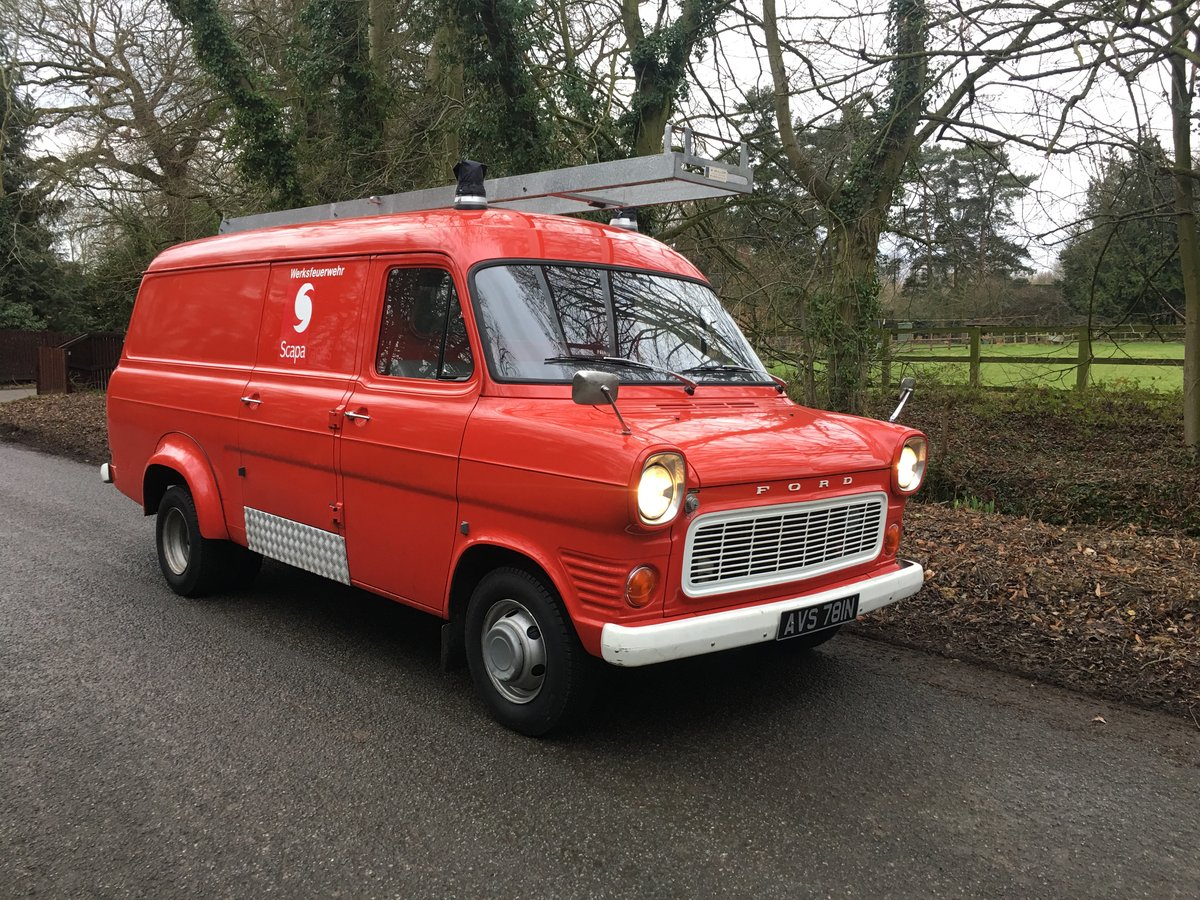 1974 Ford Transit panel van lowest miles in existence? For Sale (picture 1 of 6)