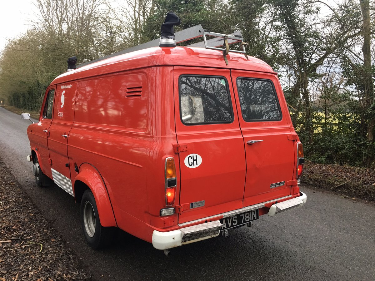 1974 Ford Transit panel van lowest miles in existence? For Sale (picture 2 of 6)