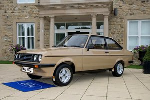 1979 Ford Escort RS2000 Custom in concours condition