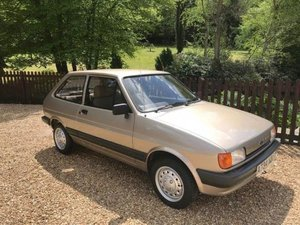 1984 Ford Fiesta 1.1L For Sale by Auction