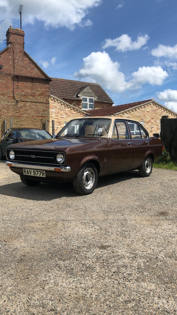 1977 Mk2 Ford Escort L 20,000 miles from new! For Sale (picture 5 of 6)