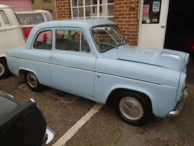 1958 Ford Anglia 100E 1172cc. 2 owner car.  For Sale (picture 1 of 6)