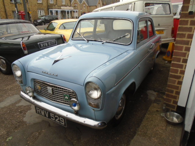 1958 Ford Anglia 100E 1172cc. 2 owner car.  For Sale (picture 2 of 6)