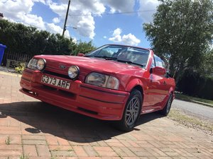 1989 Escort cab , RS KIT, POSS PX For Sale