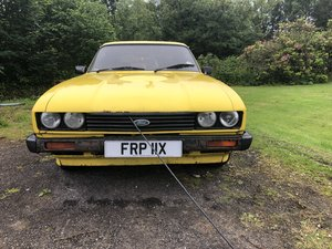 Ford Capri 20 GL 1982 For Sale by Auction