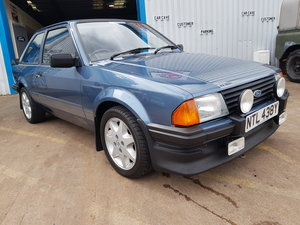 1983 Ford Escort Rs1600i - Caspian Blue For Sale