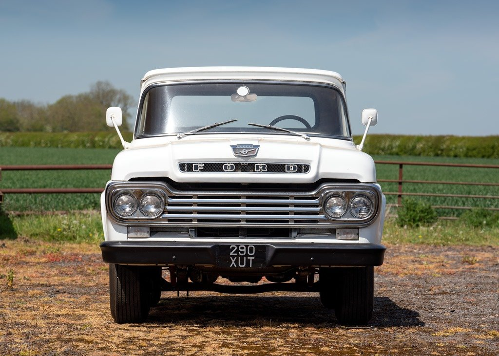 1959 Ford F100 Pick-up (Third Generation) SOLD by Auction (picture 1 of 6)
