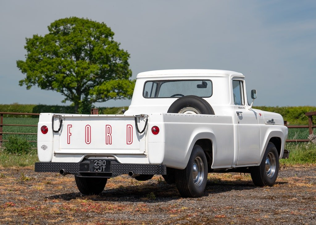 1959 Ford F100 Pick-up (Third Generation) SOLD by Auction (picture 2 of 6)