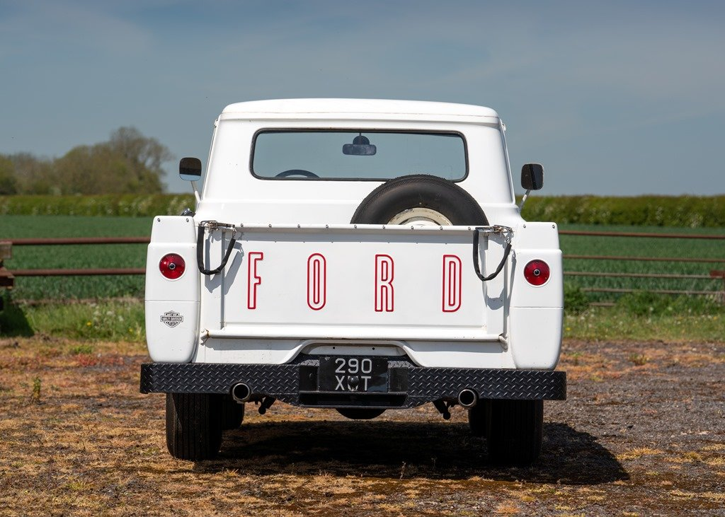 1959 Ford F100 Pick-up (Third Generation) SOLD by Auction (picture 3 of 6)