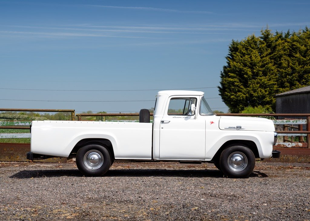 1959 Ford F100 Pick-up (Third Generation) SOLD by Auction (picture 4 of 6)
