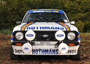 1978 Ford Escort Mexico Mk. II Group 4 Rally Car Evocation For Sale by Auction