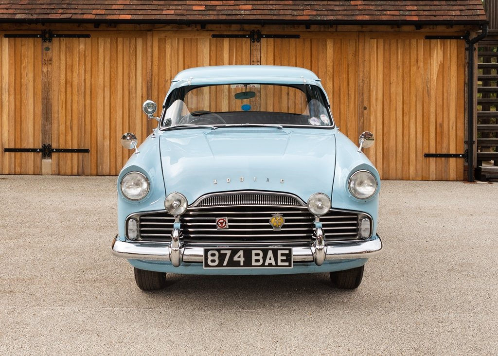 1957 Ford Zodiac Mk. II For Sale by Auction (picture 1 of 6)