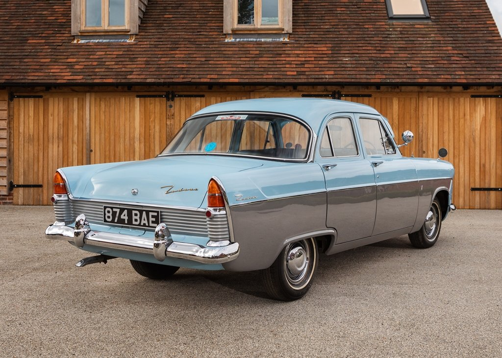1957 Ford Zodiac Mk. II For Sale by Auction (picture 3 of 6)