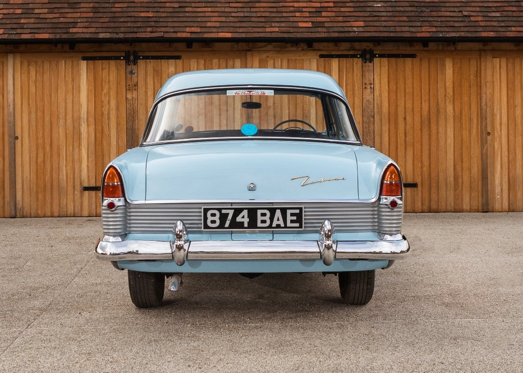 1957 Ford Zodiac Mk. II For Sale by Auction (picture 4 of 6)