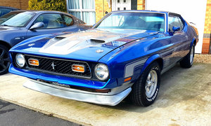 1972 Ford Mustang Mach 1 For Sale by Auction