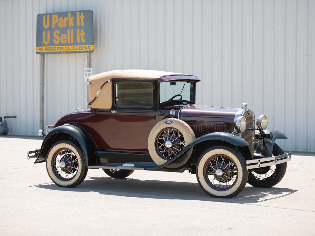 1931 Ford A Sport Coupe For Sale by Auction (picture 1 of 6)