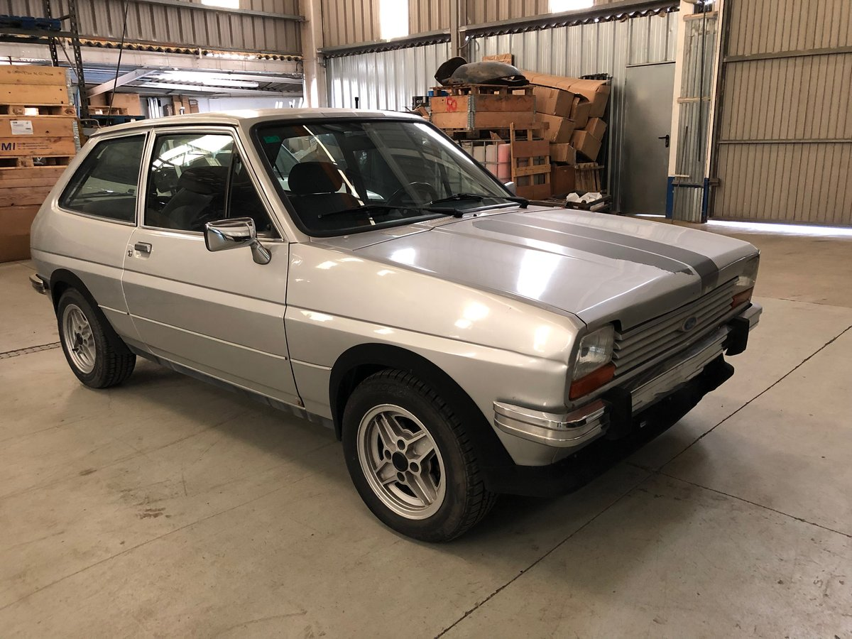 1980 Ford Fiesta 1.3 SuperSport For Sale (picture 1 of 6)