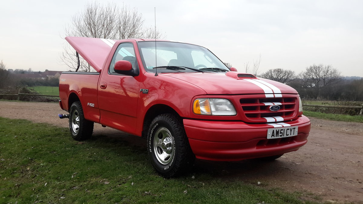 2002 Ford F150 4,2 SINGLE CAB PICKUP 4.2 V6 5 SPEED MANUAL  For Sale (picture 1 of 6)