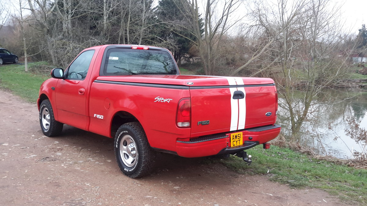 2002 Ford F150 4,2 SINGLE CAB PICKUP 4.2 V6 5 SPEED MANUAL  For Sale (picture 4 of 6)