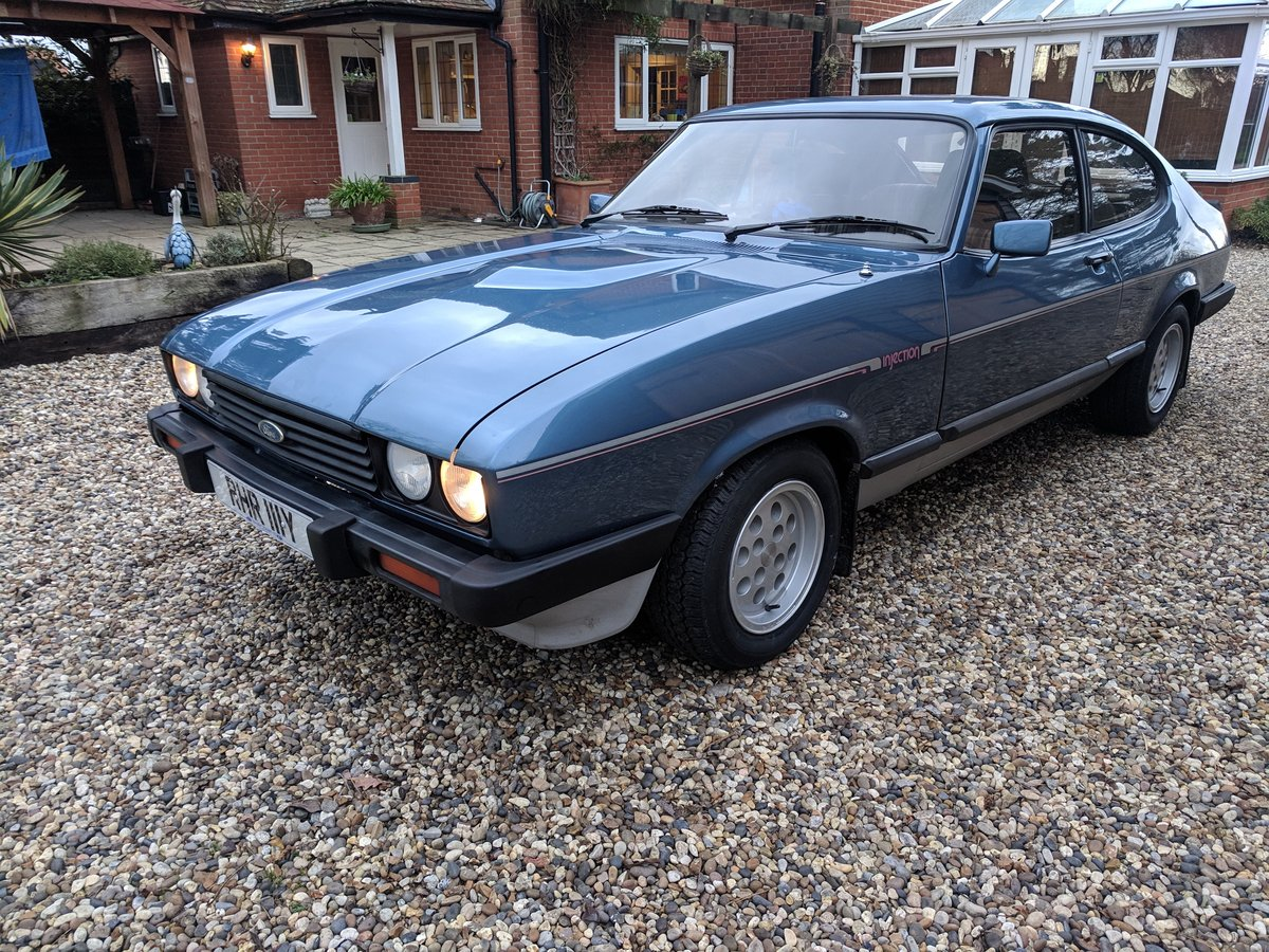 1982 ONE PREVIOUS OWNER LOW MILES LOVELY CAPRI 2.8i SOLD (picture 1 of 6)