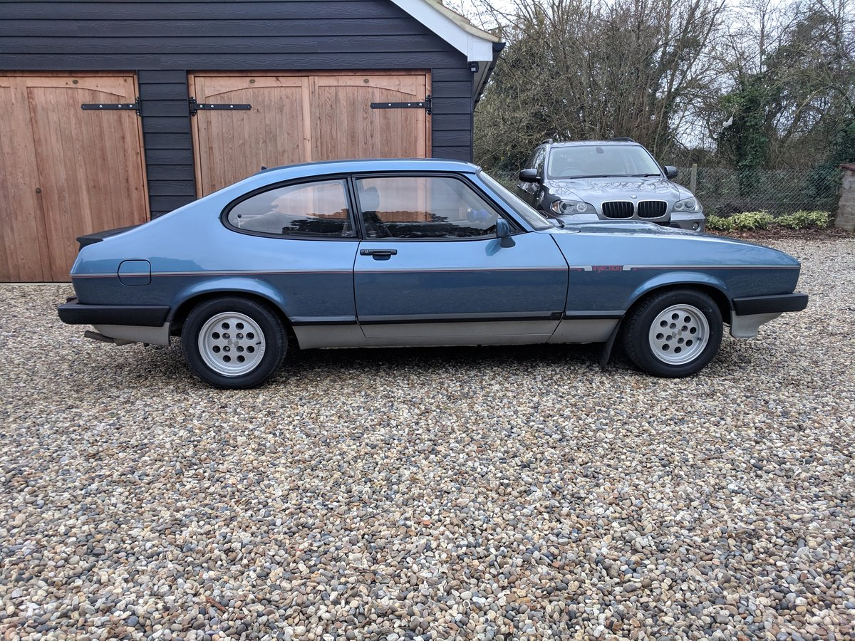 1982 ONE PREVIOUS OWNER LOW MILES LOVELY CAPRI 2.8i SOLD (picture 2 of 6)