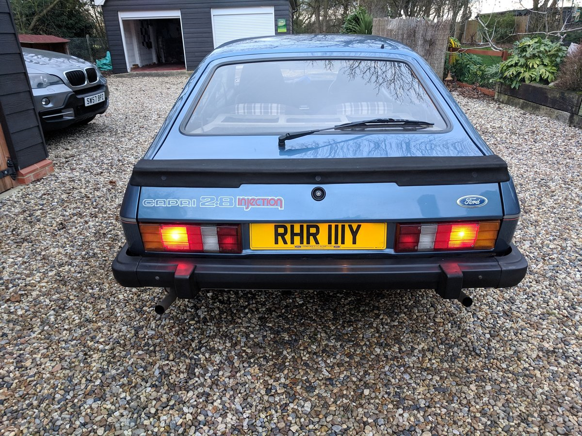 1982 ONE PREVIOUS OWNER LOW MILES LOVELY CAPRI 2.8i SOLD (picture 6 of 6)