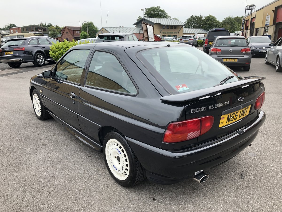 1995 Ford Escort RS2000 4x4 2.0 16v 3dr Very Rare Car For Sale (picture 2 of 6)