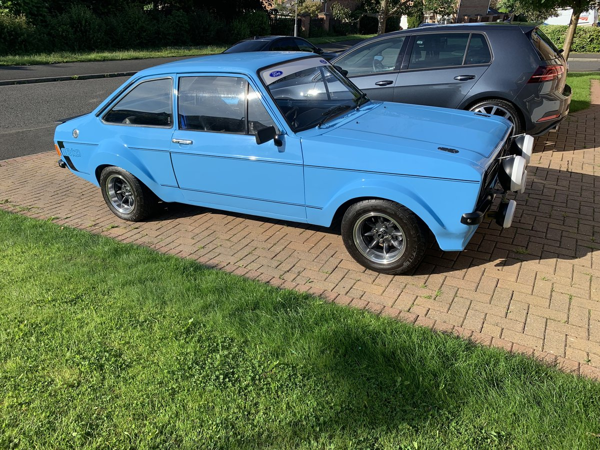 1976 Ford Escort mk2 Mexico Recreation For Sale (picture 1 of 6)