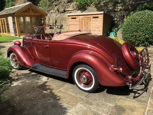 1935 Ford V8 Roadster Deluxe with Rumble Seat For Sale