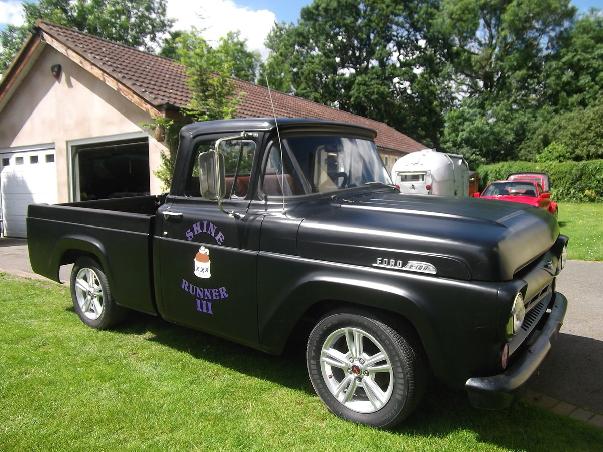 1957 Ford F100 Pick Up Truck, 302 (5000cc) V8, Automatic SOLD (picture 1 of 6)