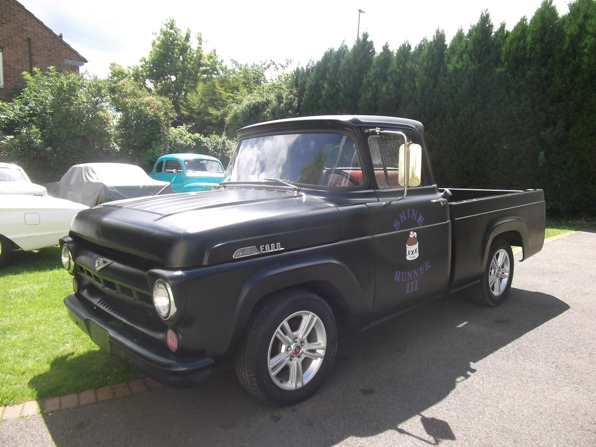 1957 Ford F100 Pick Up Truck, 302 (5000cc) V8, Automatic SOLD (picture 2 of 6)