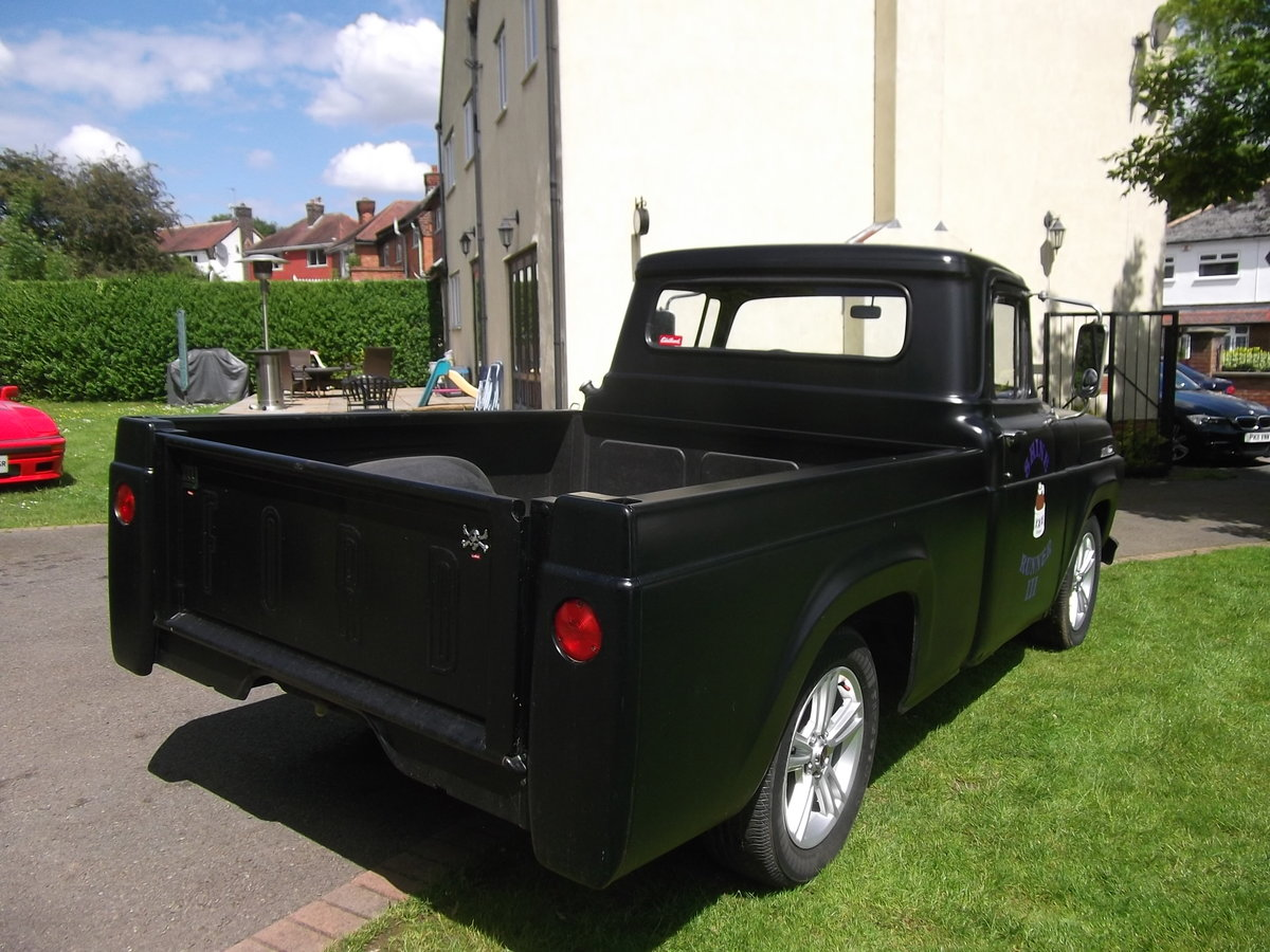 1957 Ford F100 Pick Up Truck, 302 (5000cc) V8, Automatic SOLD (picture 3 of 6)