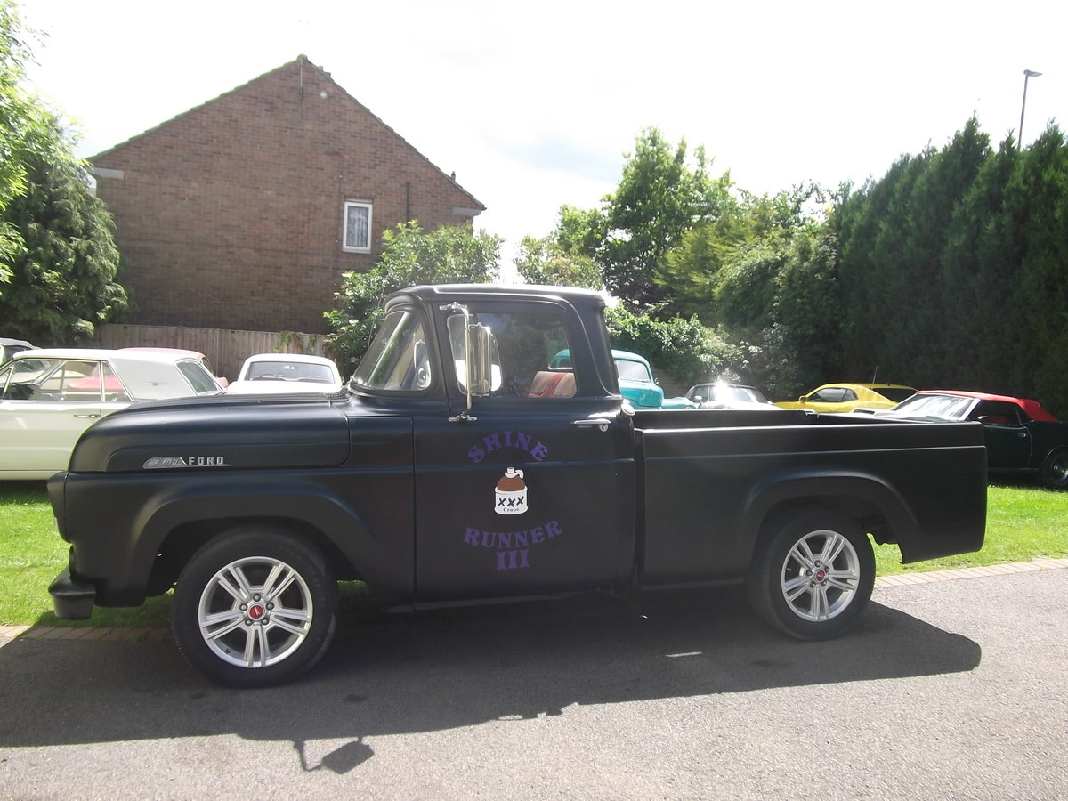 1957 Ford F100 Pick Up Truck, 302 (5000cc) V8, Automatic SOLD (picture 6 of 6)