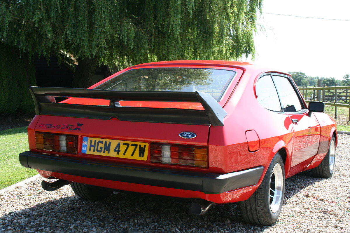 1980 MK3 Ford Capri 3.1 X Pack.NOW SOLD,MORE CAPRI'S Wanted (picture 3 of 6)
