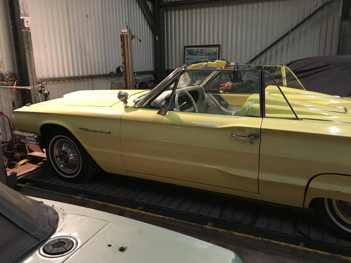 1964 ford thunderbird 390 convertible barn stored. For Sale (picture 5 of 6)