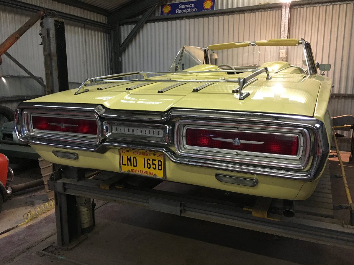 1964 ford thunderbird 390 convertible barn stored. For Sale (picture 6 of 6)