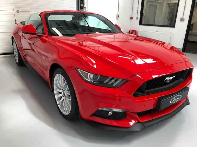 Exceptional 2016 5 Litre V8 Mustang GT - Convertible SOLD (picture 1 of 6)